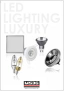 Pochette du catalogue de MS3G edition 2015. Specialiste des eclairages LED pour professionnels