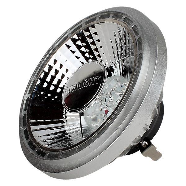 Cet éclairage économique remplace une ampoule halogène de 100W