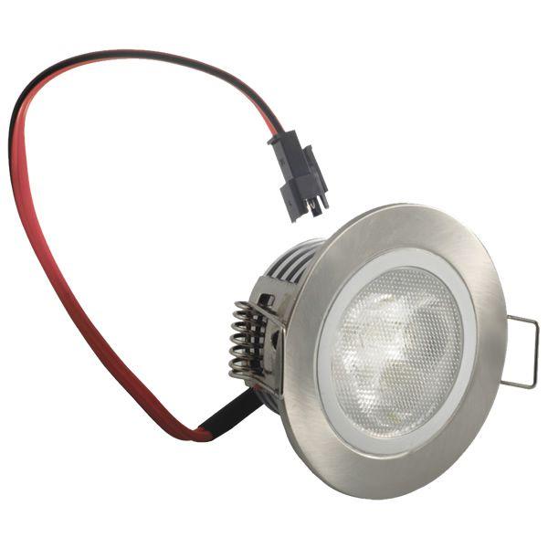 Ce luminaire encastrable bas profil de 4 Watts. Rendu des couleurs blanc froid 6500 Kelvin