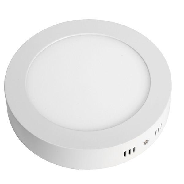 plafonnier extra plat saillie ronde 6w blanc neutre ms3g. Black Bedroom Furniture Sets. Home Design Ideas