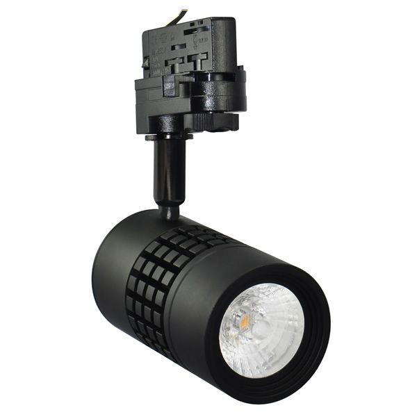 Indispensable pour les éclairages de magasins, ce tracklight LED de 15WATTS produit un grand flux lumineux de 1230 Lm. La solution d'éclariage idéal pour les professionnels.