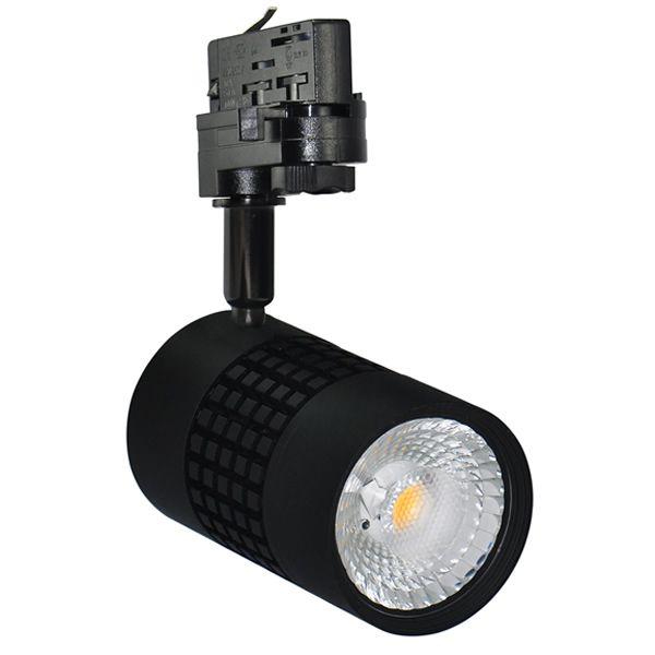 Éclairage professionnel basse consommation. Ce spot TRACKLIGHT de 35 WATTS permet de remplacer une lampe de 150 WATTS.