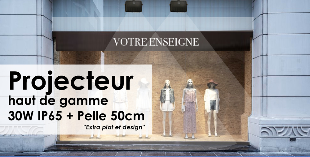 projecteur-led-devanture-magasin